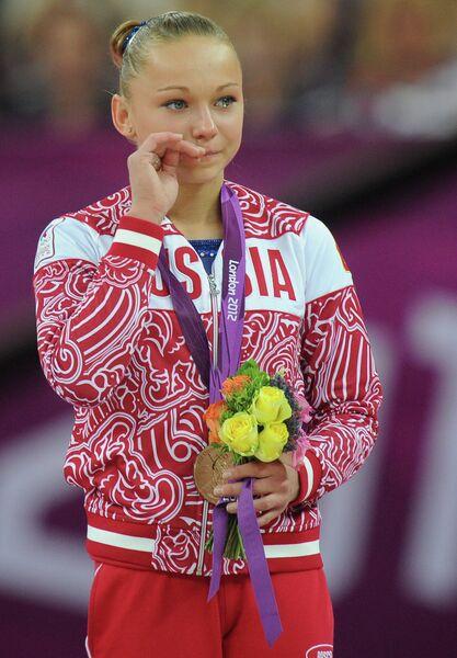 Россиянка Мария Пасека