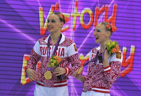 Россиянки Наталья Ищенко и Светлана Ромашина