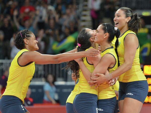 Бразильские волейболистки