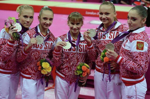 ОИ - 2012. Спортивная гимнастика. Женщины. Командное первенство