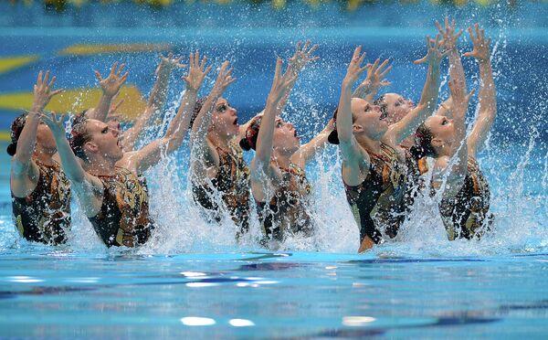 Российская сборная по синхронному плаванию