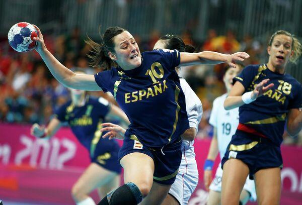 Гандболистка сборной Испании