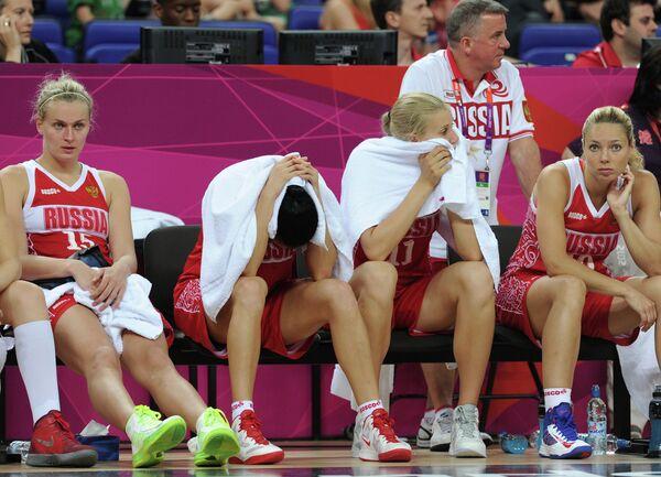 Момент матча Австралия - Россия