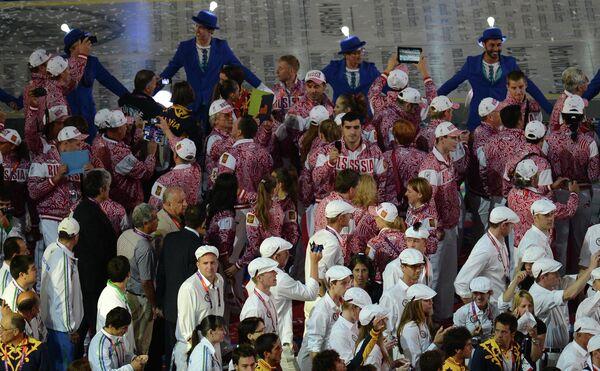 ОИ - 2012. Церемония закрытия