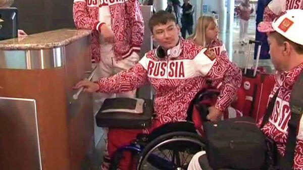 Спортсмены о медальном плане на Паралимпиаде перед вылетом в Лондон