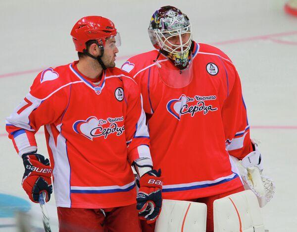 Александр Радулов и Илья Брызгалов (слева направо)