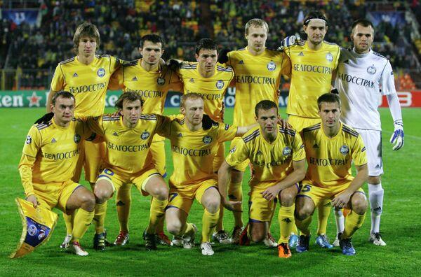 Футболисты БАТЭ