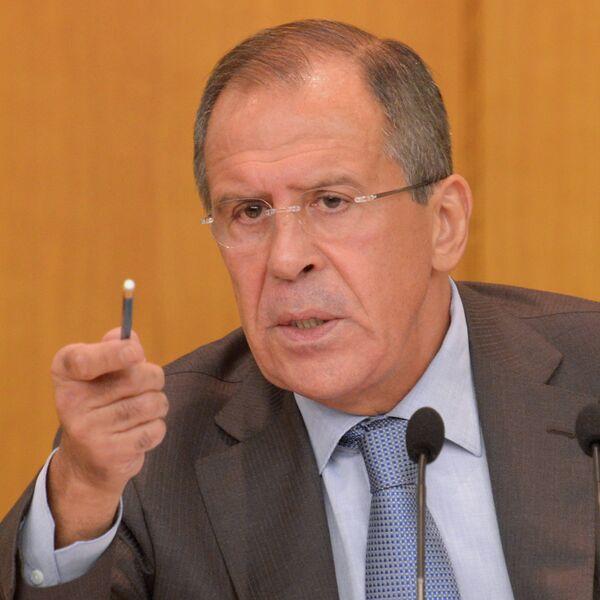 П/к министра иностранных дел РФ С.Лаврова