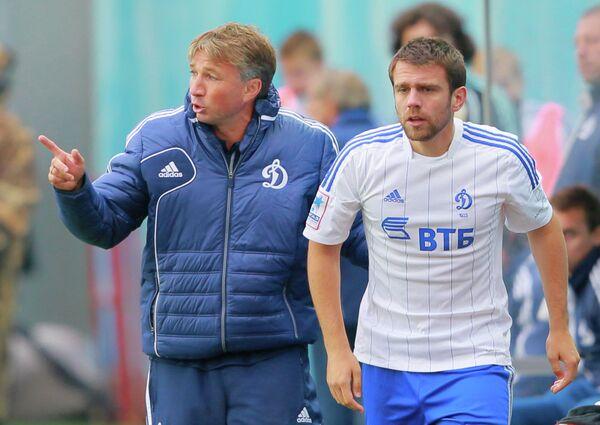 Дан Петреску и Звездан Мисимович (слева направо)