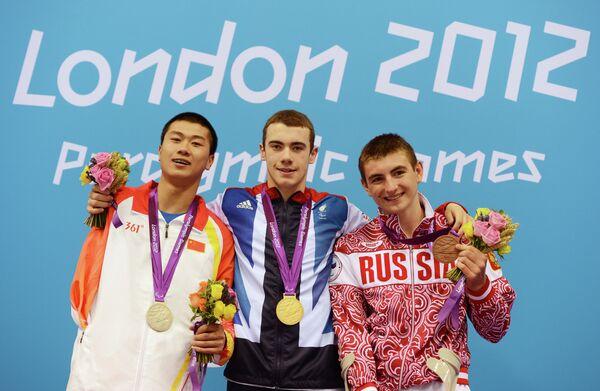 Пань Шиюнь, Джозеф Крэйг и Андрей Гладков (слева на право)