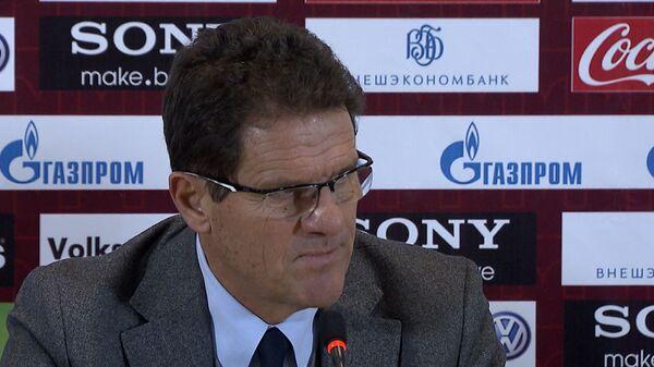 Фабио Капелло прокомментировал исход матча России и Северной Ирландии