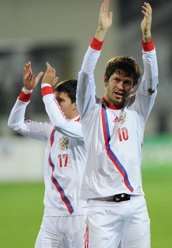 Александр Зотов и Федор Смолов (слева направо)