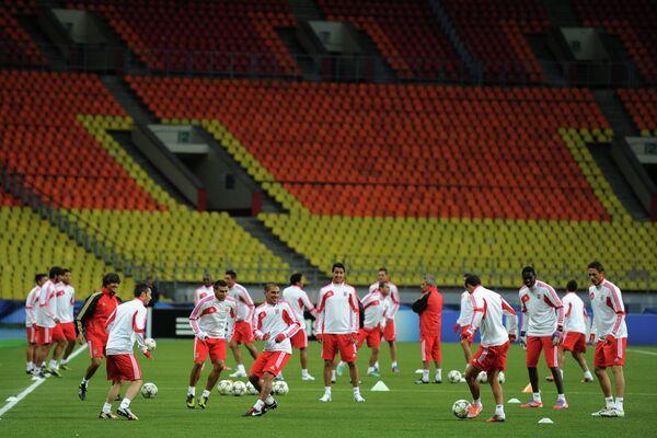 Тренировка ФК Бенфика