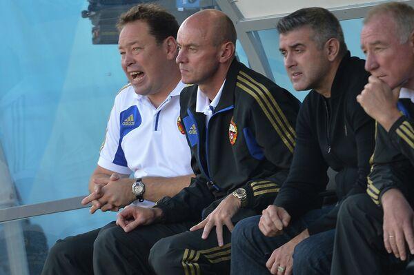 Леонид Слуцкий и Виктор Онопко (слева направо)