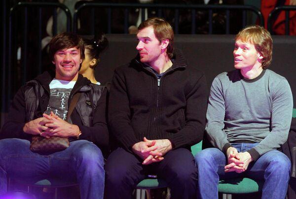 Евгений Артюхин, Алексей Семенов и Максим Афиногенов (слева направо)