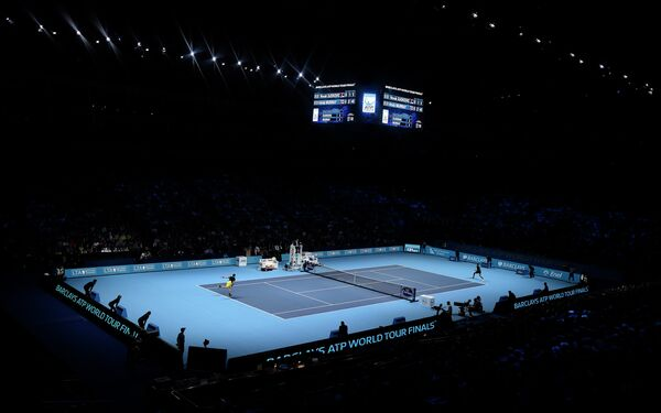Теннисный корт в Лондоне