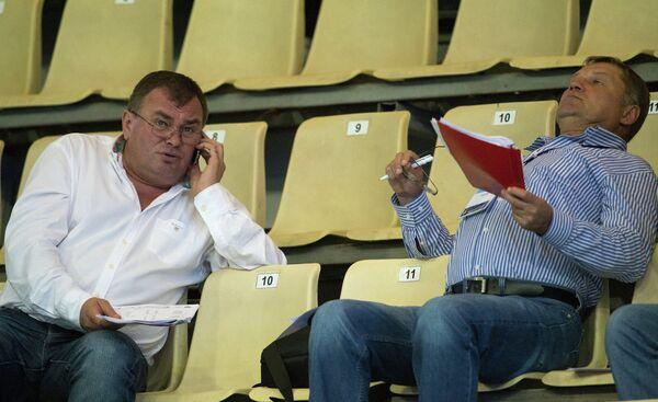 Виктор Авдиенко и Анатолий Журавлев (слева направо)