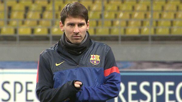 Барселона сильнейшим составом готовится к игре со Спартаком в Москве