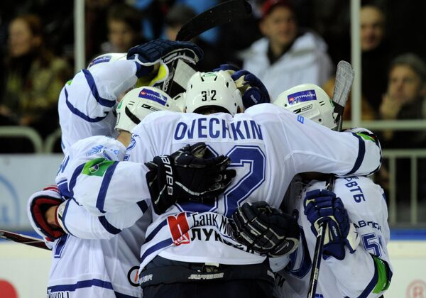 Игроки московского Динамо
