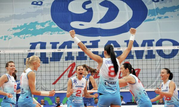 Волейболистки Динамо