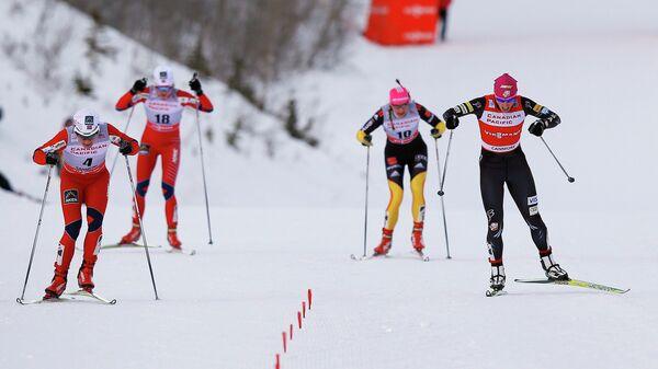 Женский спринт Кубка мира по лыжным гонкам в Кэнморе (Канада)