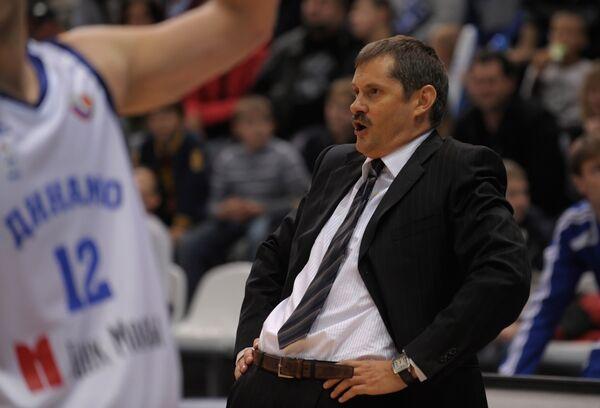 Тренер баскетбольного Динамо Сергей Базаревич