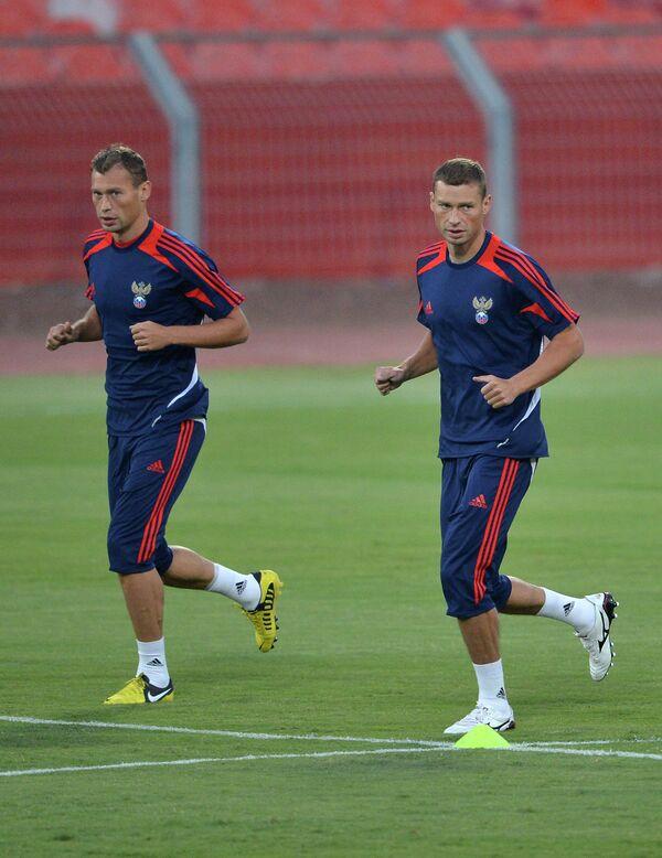 Алексей и Василий Березуцкие (справа налево)