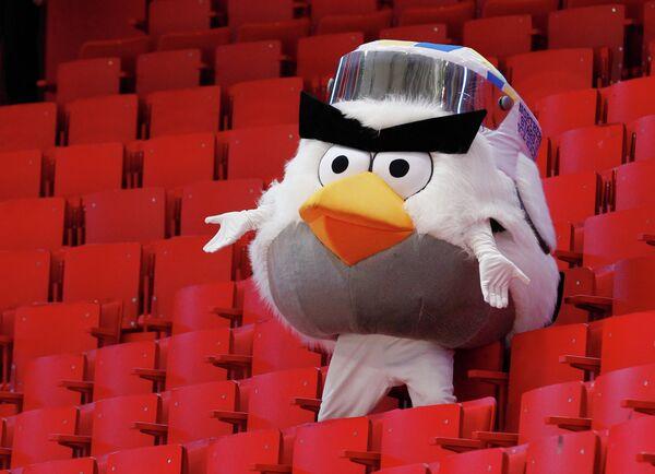 Талисман чемпионата мира по хоккею 2012