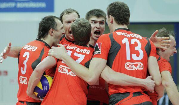 Волейболисты  ВК Белогорье