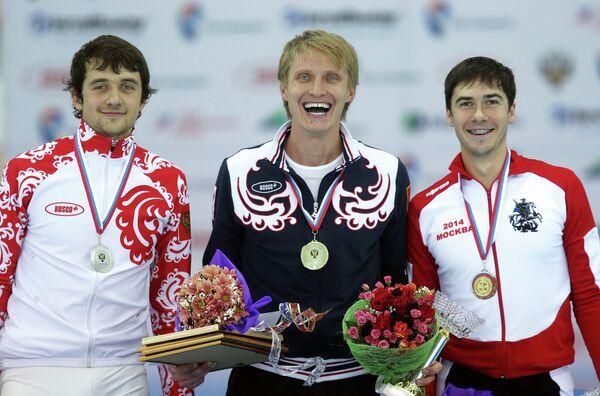 Призеры чемпионата России по конькобежному спорту