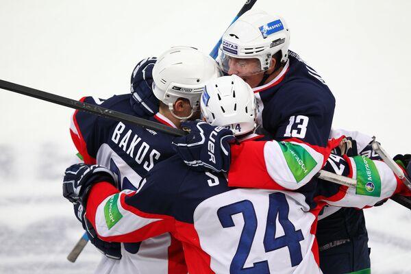 Игроки хоккейного клуба Слован