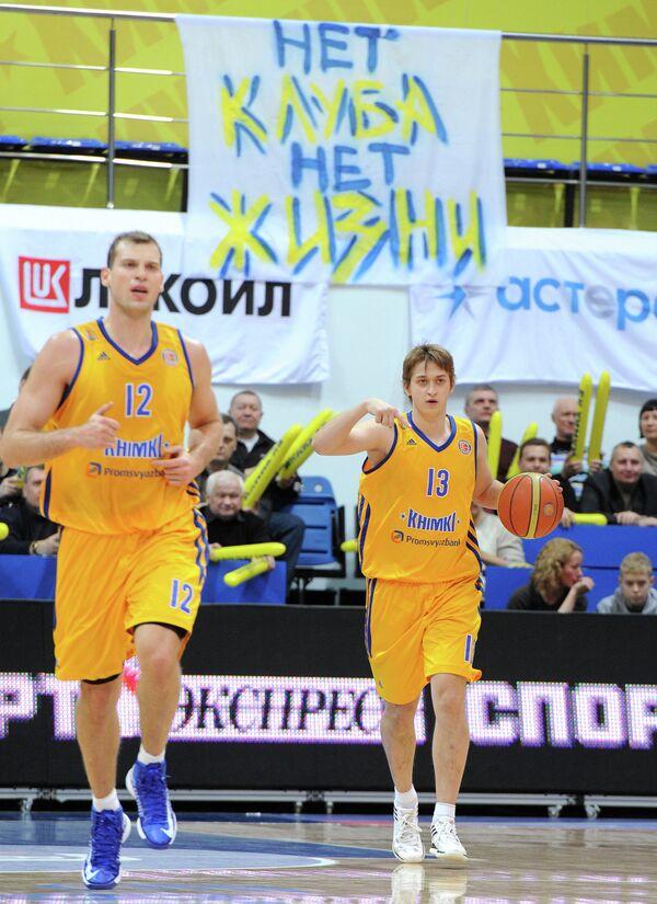 Сергей Моня и Дмитрий Хвостов (слева направо)