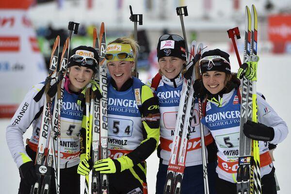 Женская сборная Франции по биатлону