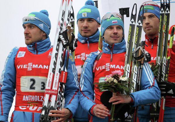 Мужская сборная России по биатлону