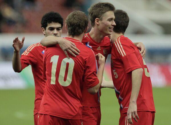 Игроки молодежной сборной России
