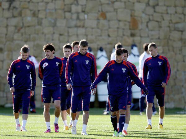 Футболисты сборной Россииссии