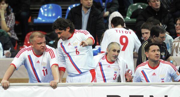 Сергей Кирьяков, Дмитрий Ананко, Ахрик Цвейба и Дмитрий Аленичев (слева направо)