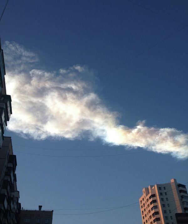 Метеоритный дождь прошел над Челябинской областью