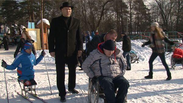 Валуев пожелал инвалидам найти новых друзей в открывшемся спортивном клубе