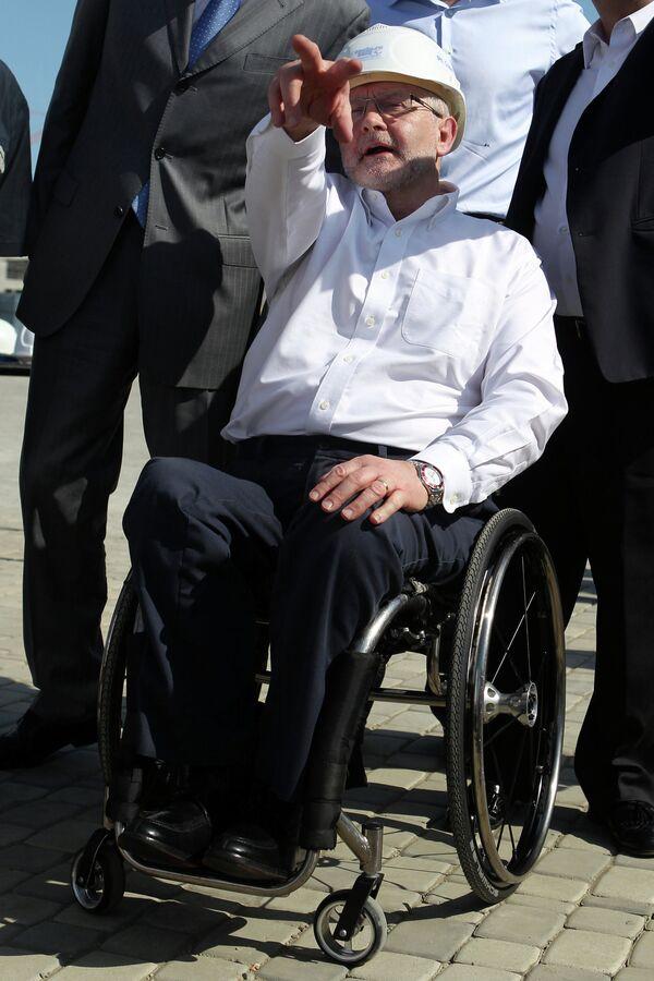 Президент Международного Паралимпийского Комитета сэр Филип Крейвен