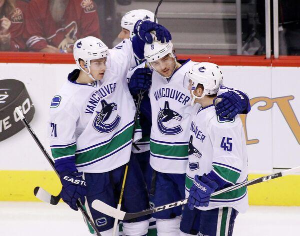 Хоккеисты Ванкувер Кэнакс