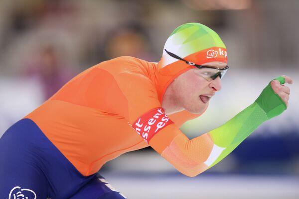 Голландский конькобежец Свен Крамер