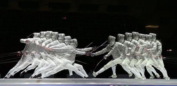 Фехтование. Московская сабля. Командный турнир