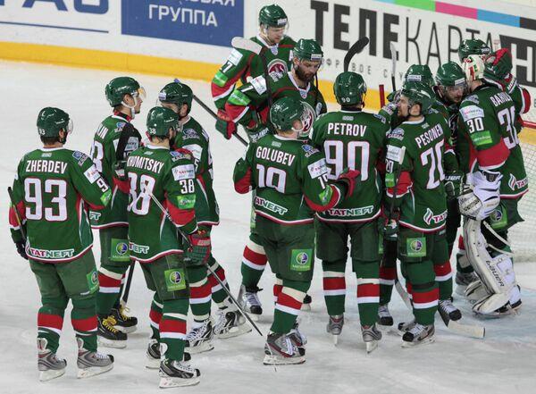 Хоккей. КХЛ. Матч Ак Барс - Трактор