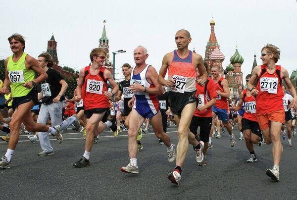 Московский международный марафон мира прошел в столице