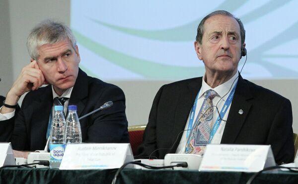 Олег Матыцин (слева) и Клод Луи-Гальен
