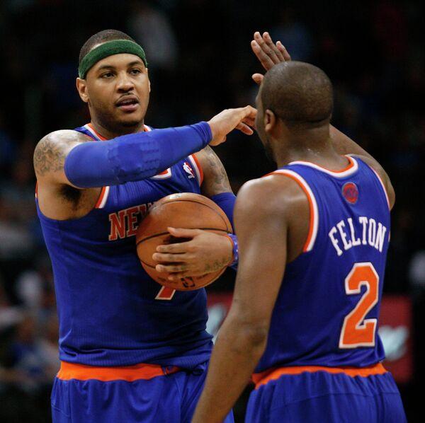 Баскетболисты Никс