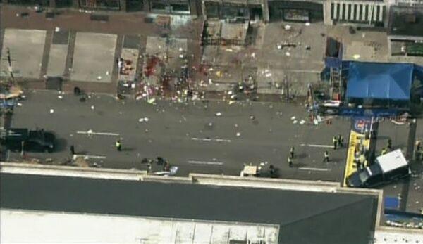 Взрывы на марафоне в Бостоне