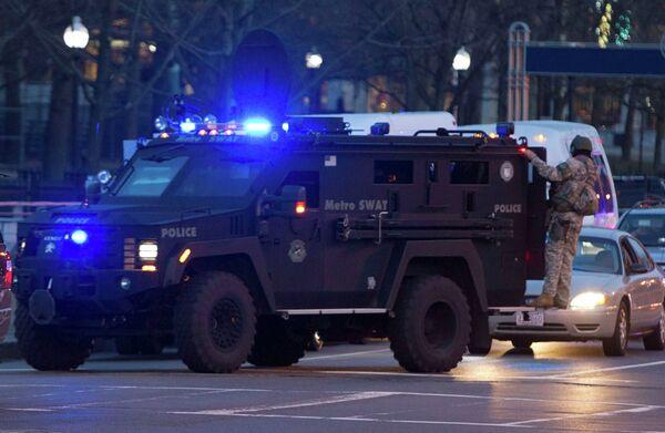 Ситуация в Бостоне на месте взрывов
