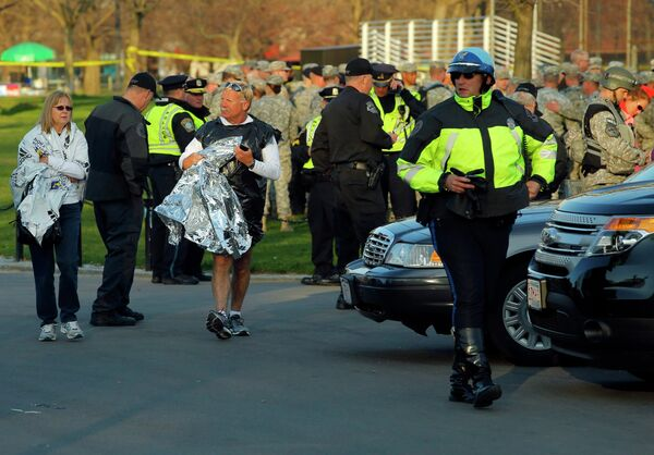 Ситуация в Бостоне после взрывов